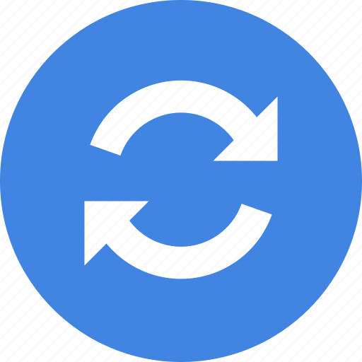 refresh, sync, update icon