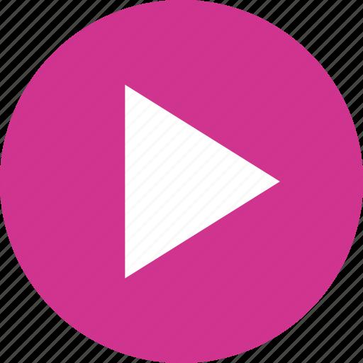 movie, play, video icon