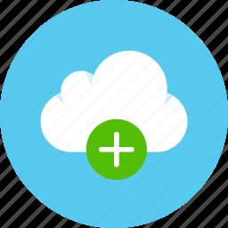 cloud, data, storage icon