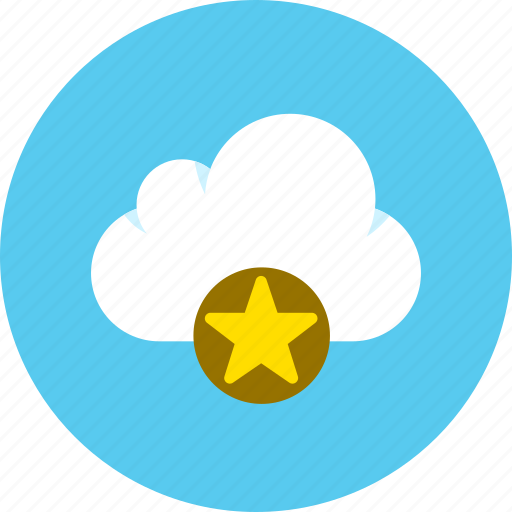 cloud, data, favorite icon