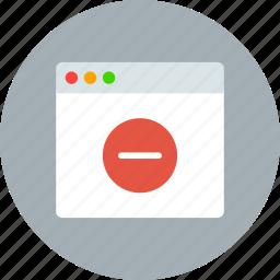 app, delete, warning icon