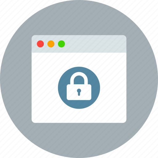 app, application, lock, mac, private, window icon