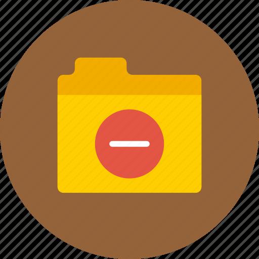 clear, folder, spam icon