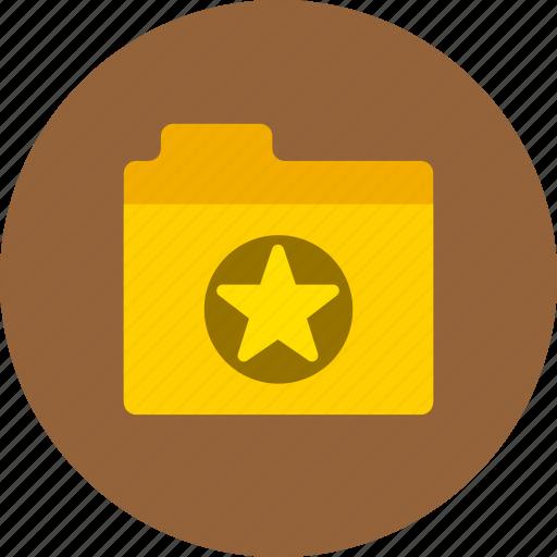 Files, favorite, folder icon