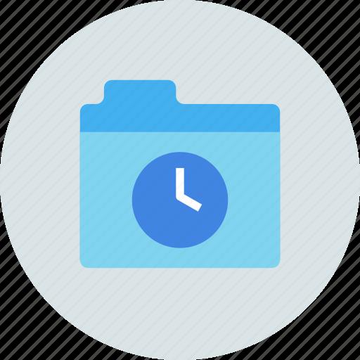 Folder, backup, time machine icon