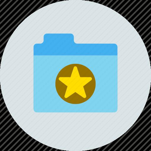 favorite, files, folder, storage icon