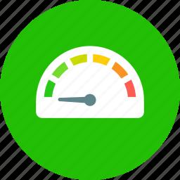 gauge, speed icon