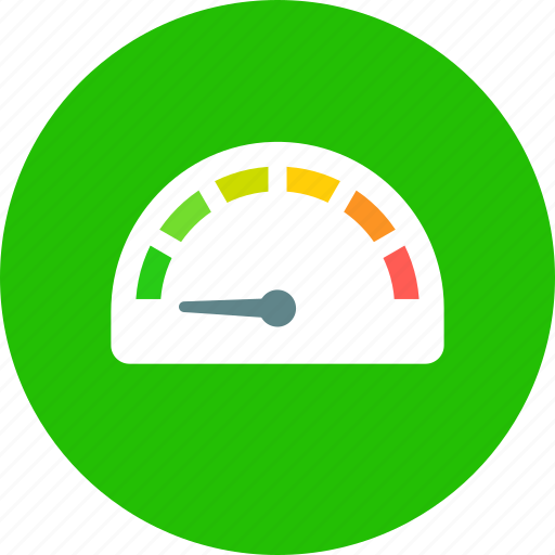 gauge, speed icon