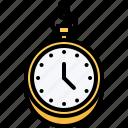 accessory, chain, clock, jeweler, jewelry, shop, watch icon