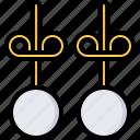 box, earring, earrings, jeweler, jewelry, shop icon