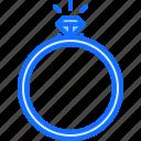 diamond, jeweler, jewelry, ring, shine, shop icon