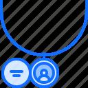 jeweler, jewelry, medallion, necklace, pendant, photo, shop icon