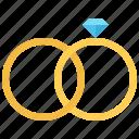 diamond, jeweler, jewelry, ring, rings, shop, wedding icon