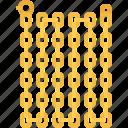 chain, gold, jeweler, jewelry, shop icon