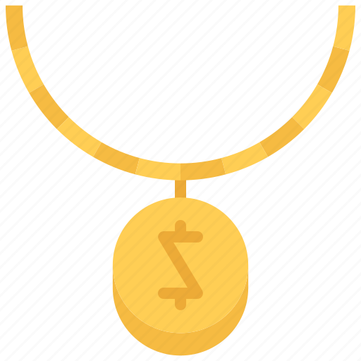 Accessory, chain, dollar, jeweler, jewelry, necklace, pendant icon - Download on Iconfinder