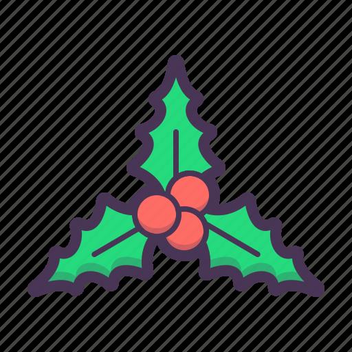 celebration, decoration, holiday, holly, snow, tourism, year icon