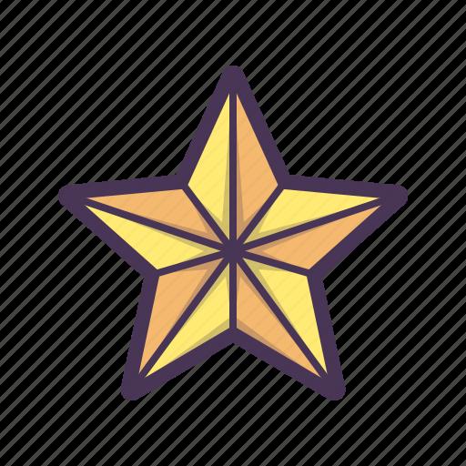 birthday, celebration, christmas, snowflake, star icon