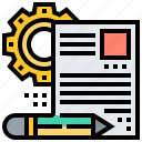 applicationresume, document, profile, recruitment icon