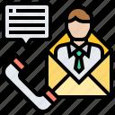 communication, community, contact, mail, phone