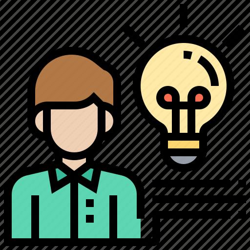Creative, idea, innovation, intelligent, solution icon - Download on Iconfinder