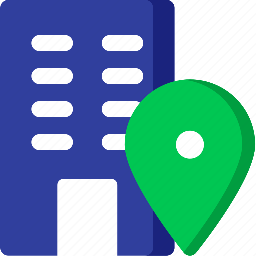 adress, business, company, location, map, office, pin icon