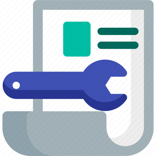 cv, panel, paper, resume, setting, skills, tool icon