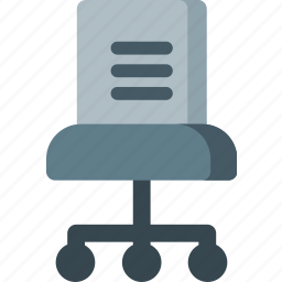 business, chair, furniture, interior, office, work icon