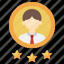 best, employee, user, people, worker icon