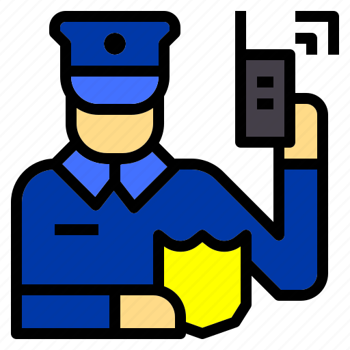 guard, jobs, man, occupation, police, policeman, security icon