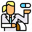 healthcare, hospital, jobs, medical, medicine, pharmacist, pharmacy icon