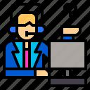 call, center, employee, job, phone, support, work