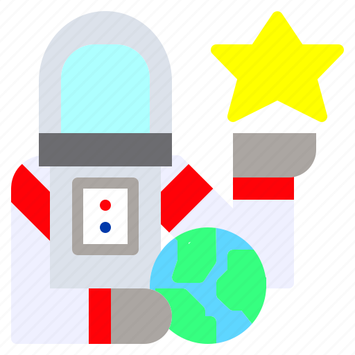 astronaut, education, galaxy, job, jobs, occupation, space icon