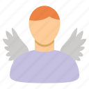 angel investor, christian, god, jesus, religious, saint, venture capital icon