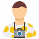 photographer, photography, tourism, tourist, travel, traveler, vacation icon
