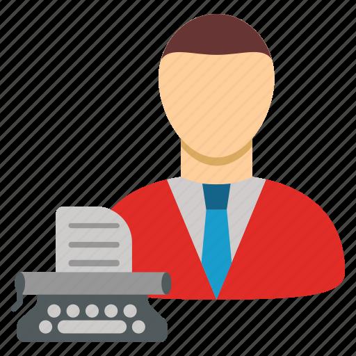 article, blogger, copywriter, copywriting, creator, typewriter, writer icon