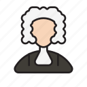 barrister, court, judge, jury, justice, law, legal