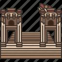 jerash, roman, architecture, historic, heritage