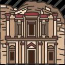 petra, ancient, landmark, monastery, historic
