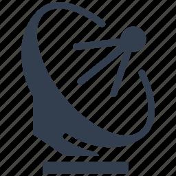 antenna, broadcasting, communication, dish, press, radio, satellite, signal, wireless icon