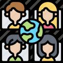 social, network, community, communication, group