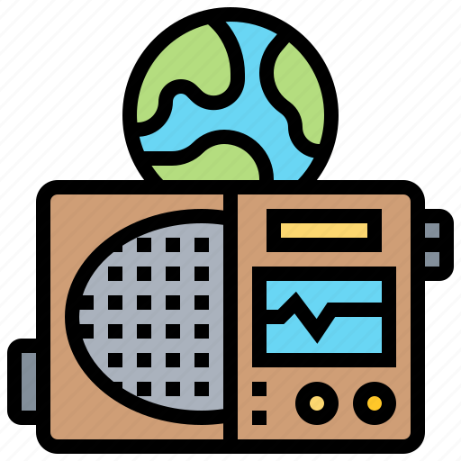 Audio, broadcast, listen, news, radio icon - Download on Iconfinder