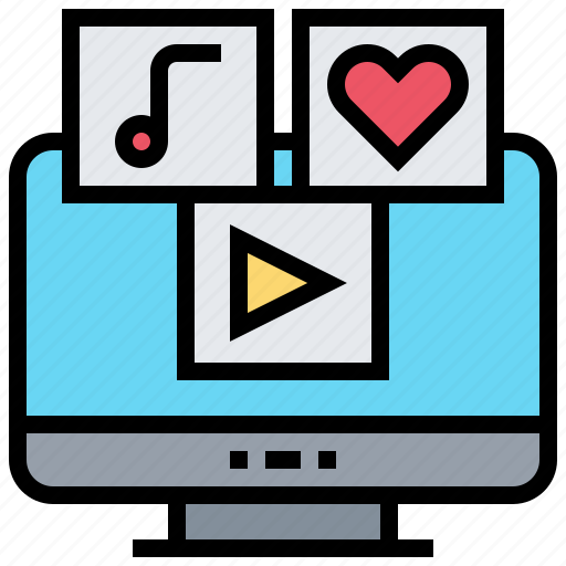 Channels, entertainment, media, online, social icon - Download on Iconfinder