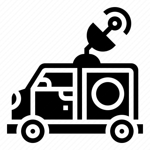advertisement, announcement, broadcast, car, news icon