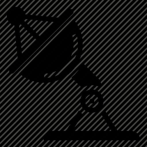 dish, receiver, satellite, transmit, wave icon