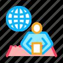 computer, map, news, social, web, worldwide