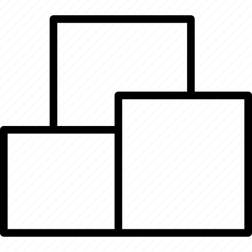 boxes, packages, pile, stack, storage icon