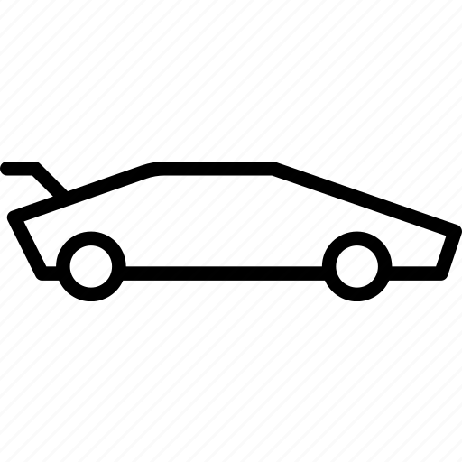 car, fast, lamborghini, race, supercar icon