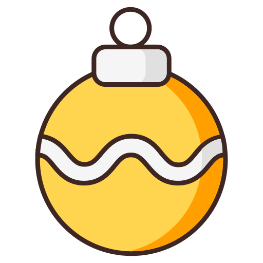 ball, christmas, christmas tree, decoration, ornament icon