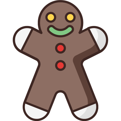 Christmas, gingerbread, man icon - Free download