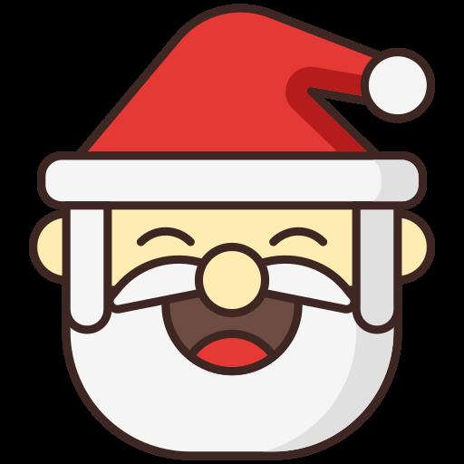 christmas, claus, santa, santa hat icon